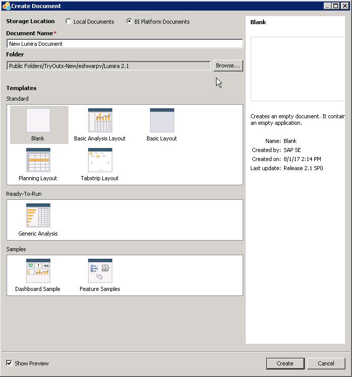 11 Key New Features in SAP Lumira Designer 2.1
