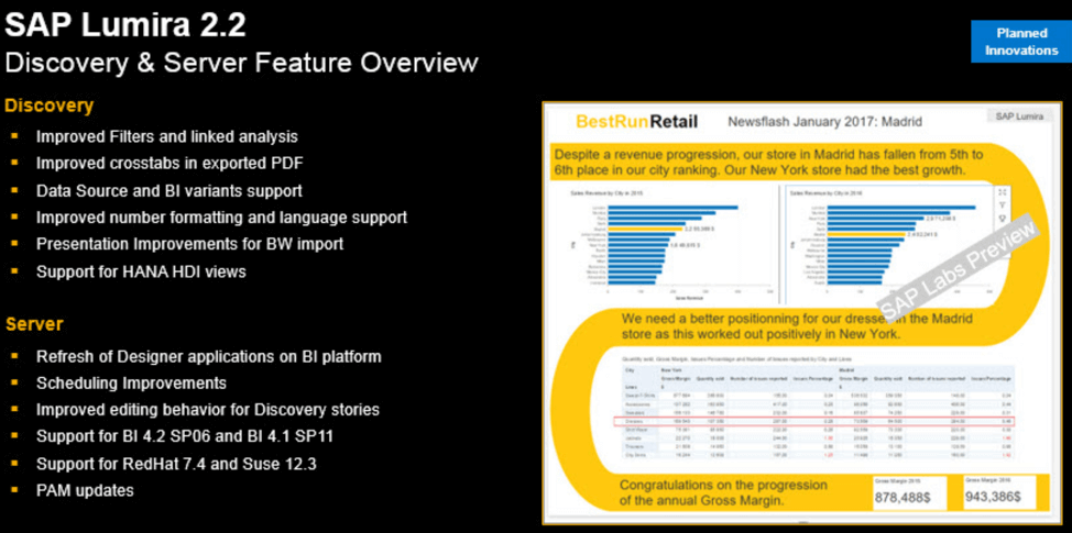 5 Key New Features in Lumira 2.2- Discovery Edition
