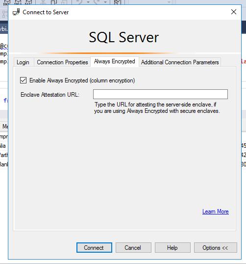 Azure SQL Security - Always Encrypted
