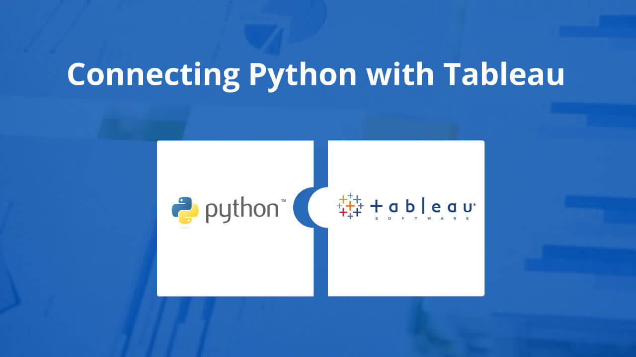 Connecting Python with Tableau