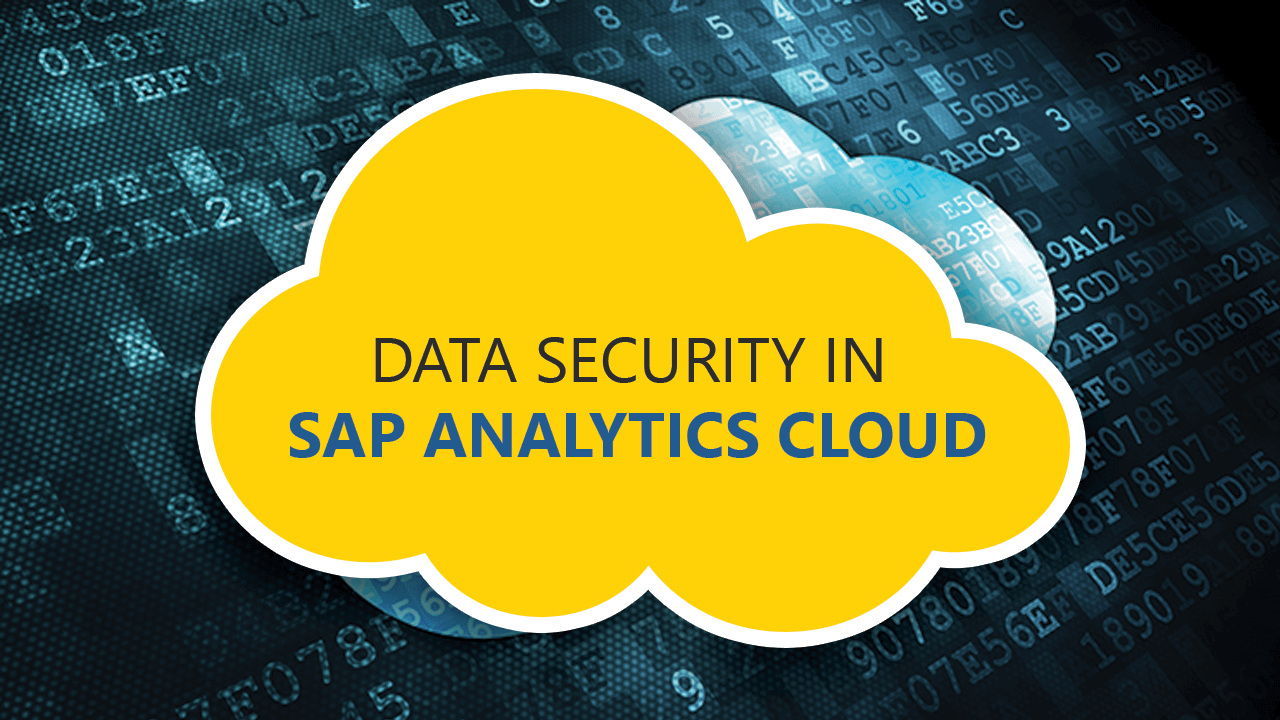 Data Security in SAP Analytics Cloud
