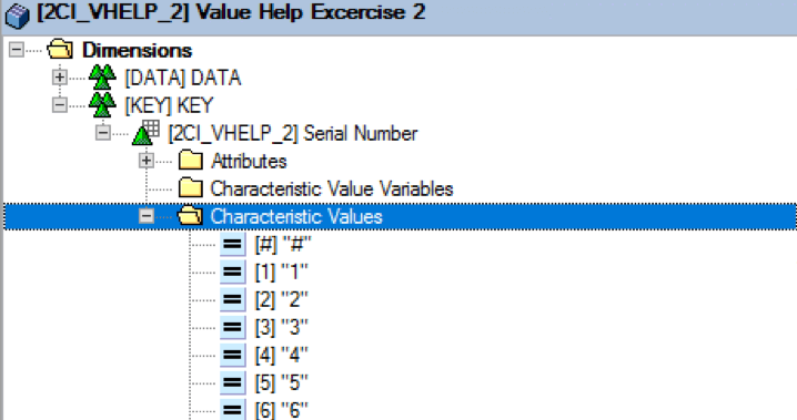 Display list of values for selection/Variable Screen at BEx Query based on CDS Views