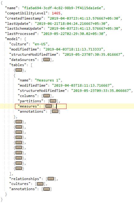 Exporting Measure and Column formulas from Power BI
