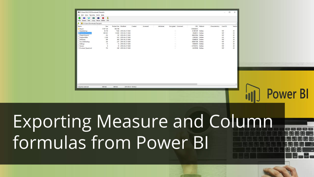 Exporting Measure and Column formulas from Power BI