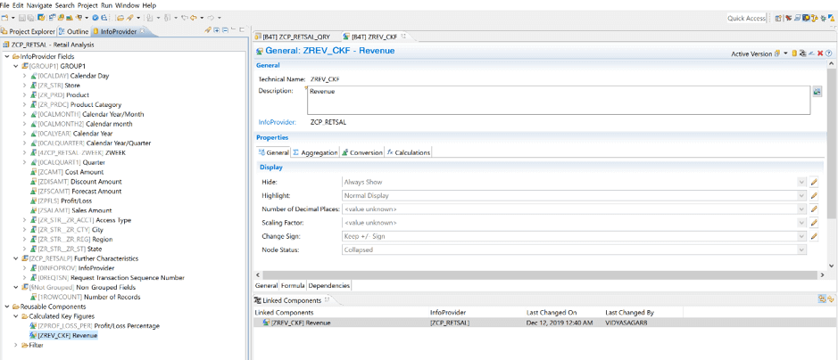 Linked Components in BW/4HANA – Part 2