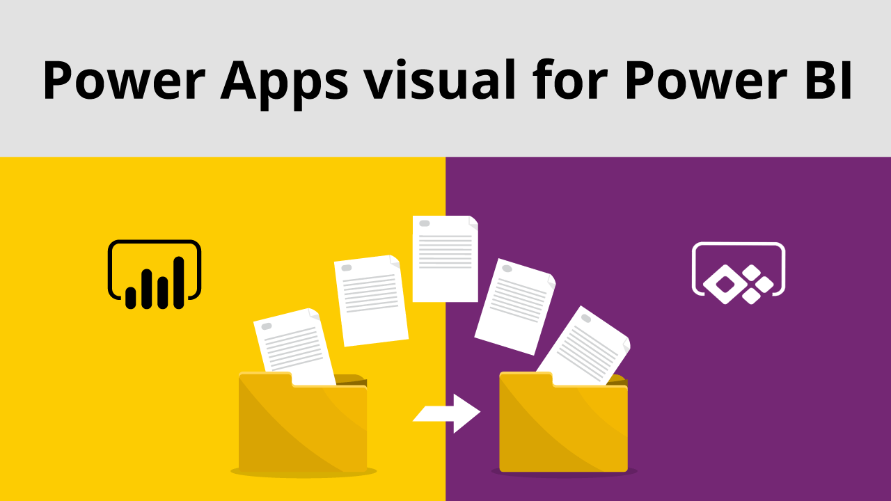 Power Apps visual for Power BI