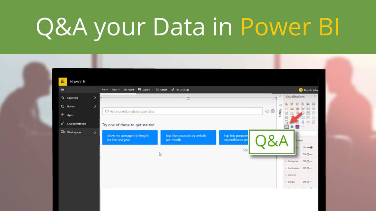 Q&A your Data in Power BI