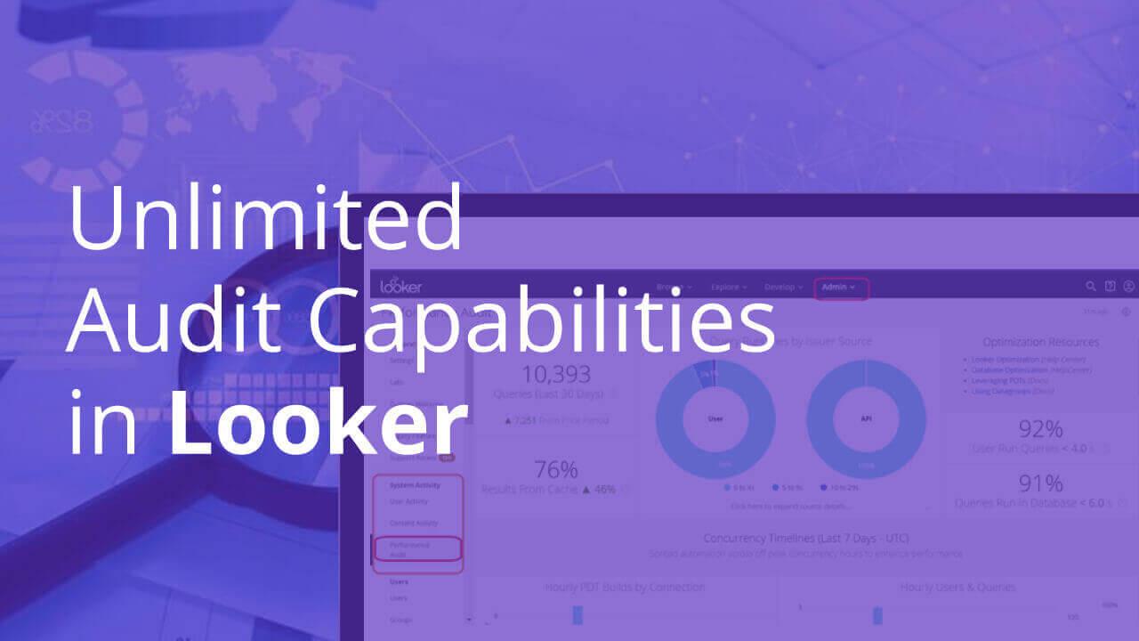 Unlimited Audit Capabilities in Looker