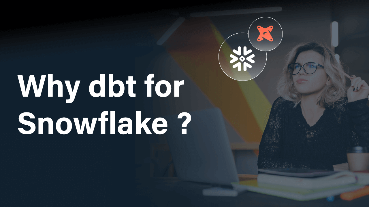 Why dbt for Snowflake?